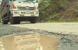 Xuống cấp đèo Mimosa gây mất an toàn giao thông
