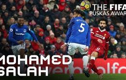 Vượt mặt Ronaldo và Bale, Salah bất ngờ đoạt giải Bàn thắng đẹp nhất năm