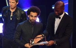 Salah bị ném đá dữ dội vì danh hiệu tại FIFA The Best 2018