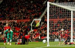 Thua Derby County trên chấm luân lưu, Manchester United dừng bước tại Cúp Liên đoàn Anh
