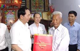Tình cảm của Chủ tịch nước Trần Đại Quang với người dân Cần Giờ