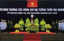 VTV tường thuật trực tiếp Lễ an táng Chủ tịch nước Trần Đại Quang trên kênh VTV1
