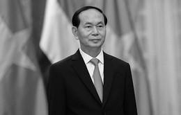 Lãnh đạo các nước tiếp tục gửi Thư và Điện chia buồn Chủ tịch nước Trần Đại Quang từ trần