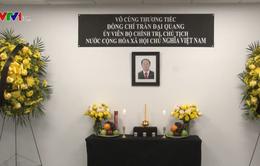 Lễ viếng Chủ tịch nước Trần Đại Quang tại các nước