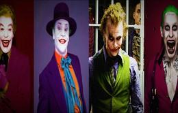 Nhìn lại gã hề Joker qua diễn xuất của từng thế hệ diễn viên