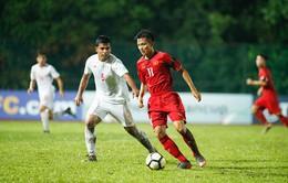 U16 Việt Nam dừng bước ngay ở vòng bảng VCK U16 châu Á 2018