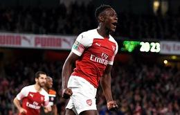 """Arsenal xác nhận chia tay """"chân gỗ"""" Welbeck"""