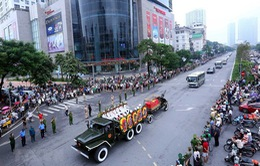 Người dân tiễn biệt Chủ tịch nước Trần Đại Quang