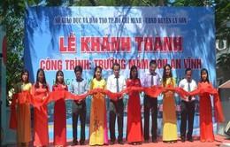 Khánh thành trường mầm non xã An Vĩnh, huyện Lý Sơn