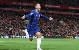 Hazard ghi bàn đẹp loại Liverpool vì đồng đội… lười