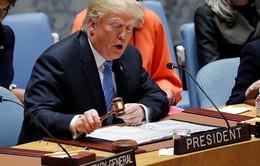Tổng thống Mỹ chủ trì cuộc họp Hội đồng Bảo an: Iran là chủ đề chính