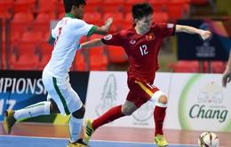 Lịch thi đấu của U20 Việt Nam tại Vòng loại Giải Futsal U20 châu Á 2019