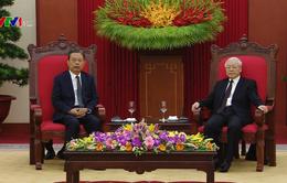 """""""Quan hệ Việt Nam - Trung Quốc có nhiều tiến triển tích cực"""""""