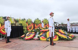 VIDEO: Lễ an táng Chủ tịch nước Trần Đại Quang tại quê nhà