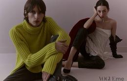 Địch Lệ Nhiệt Ba hóa quý cô màu hồng trên Vogue