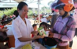 Đắk Nông: Cấp sản phẩm hỗ trợ phục hồi dinh dưỡng cho trẻ em dưới 5 tuổi