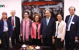 Thủ tướng Nguyễn Xuân Phúc gặp kiều bào và các bạn Mỹ của Việt Nam