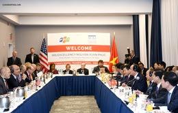 Thủ tướng kêu gọi các tập đoàn lớn của Mỹ đến Việt Nam đầu tư