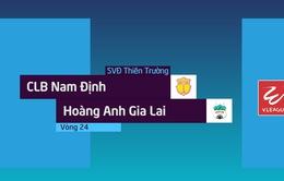VIDEO: Tổng hợp diễn biến CLB Nam Định 0-2 Hoàng Anh Gia Lai (Vòng 24 Nuti Café V.League 2018)