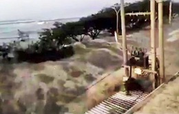 Động đất 7,5 độ Ricter gây sóng thần tại Indonesia