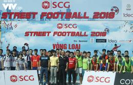 Tràn đầy hứng khởi giải Bóng đá đường phố SCG Street Football 2018