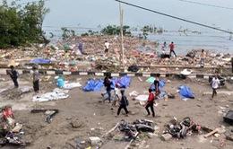 Ít nhất 384 người thiệt mạng do sóng thần ở Indonesia