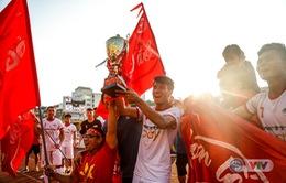 ẢNH: Bùi Tiến Dũng toả sáng, CLB Viettel giành chức vô địch giải Hạng Nhất Quốc Gia 2018