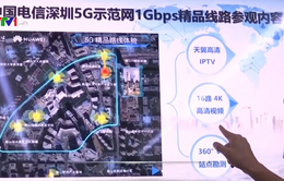 Thử nghiệm trạm phát 5G tại Thâm Quyến