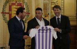 """Ronaldo """"béo"""" chính thức sở hữu CLB Real Valladolid"""