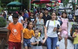 Hơn 71 nghìn lượt khách tham quan Vườn thú Hà Nội ngày cuối dịp nghỉ lễ 2/9