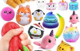Đan Mạch cấm đồ chơi squishy vì chứa hóa chất gây ung thư