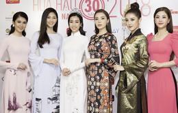 Cuộc hội ngộ hiếm có của dàn người đẹp xuất thân từ Hoa hậu Việt Nam