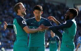 VIDEO Huddersfield 0-2 Tottenham: Kane lập cú đúp