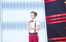 Cậu bé hát đám cưới Ngọc Linh gây xúc động tại Giọng hát Việt nhí