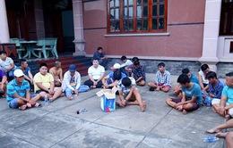 Công an tỉnh Bình Dương triệt phá sòng bạc, bắt giữ gần 50 người