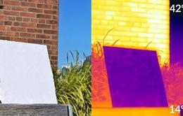 Sơn phản chiếu có thể giữ cho các tòa nhà phơi nắng mát mẻ