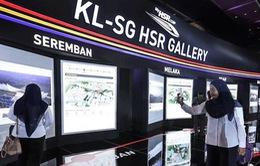 Malaysia và Singapore ngừng dự án đường sắt
