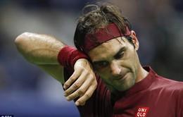 Thua John Millman, Roger Federer lỡ hẹn Djokovic ở tứ kết Mỹ mở rộng 2018