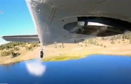 Ấn tượng hình ảnh thả cá từ trên không