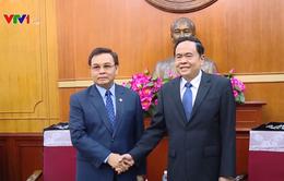 Việt Nam đánh giá cao kết quả các chương trình hợp tác với Lào