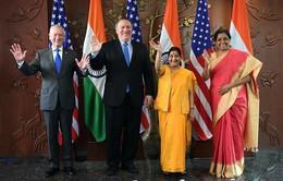 """Ấn Độ, Mỹ tiến hành đối thoại """"2+2"""" thúc đẩy quan hệ đối tác"""