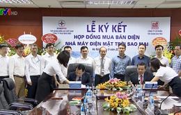 EVN kết hợp đồng mua bán điện với Tập đoàn Sao Mai