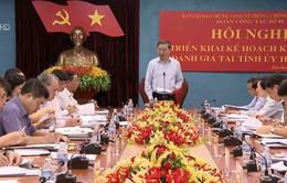 Bộ trưởng Tô Lâm kiểm tra công tác phòng chống tham nhũng tại Hòa Bình