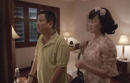 """Yêu thì ghét thôi - Tập 4: Ông Quang tỉnh bơ khi bà Diễm có ý """"thả thính"""" trai đẹp"""