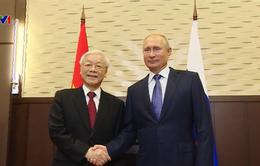Việt Nam coi Nga là một trong những đối tác quan trọng và tin cậy hàng đầu