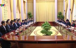 Chủ tịch nước tiếp cố vấn đặc biệt Tập đoàn Mainichi Nhật Bản