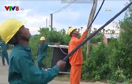 Cải tạo hệ thống lưới điện xuống cấp trước mùa mưa bão