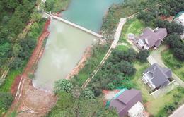 Đà Lạt: Xây bờ kè xâm phạm thắng cảnh quốc gia hồ Tuyền Lâm