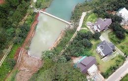 Xây bờ kè xâm phạm thắng cảnh quốc gia hồ Tuyền Lâm, Đà Lạt