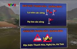 Nguy cơ cao xảy ra lũ quét, sạt lở đất và ngập lụt cục bộ từ Nghệ An đến Quảng Bình